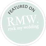 Featured on - Rock My Wedding