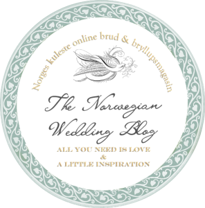 Featured on the Norwegian Wedding Blog