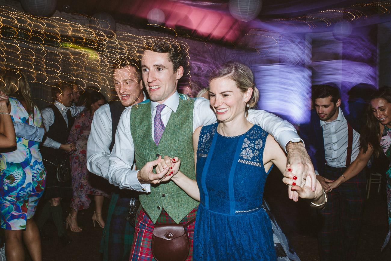 Natural, candid, party time, authentic wedding photographer scotland