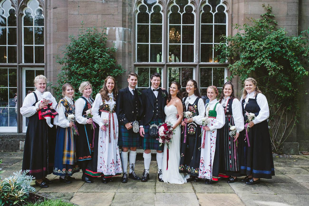 6 differences between Norwegian and Scottish wedding