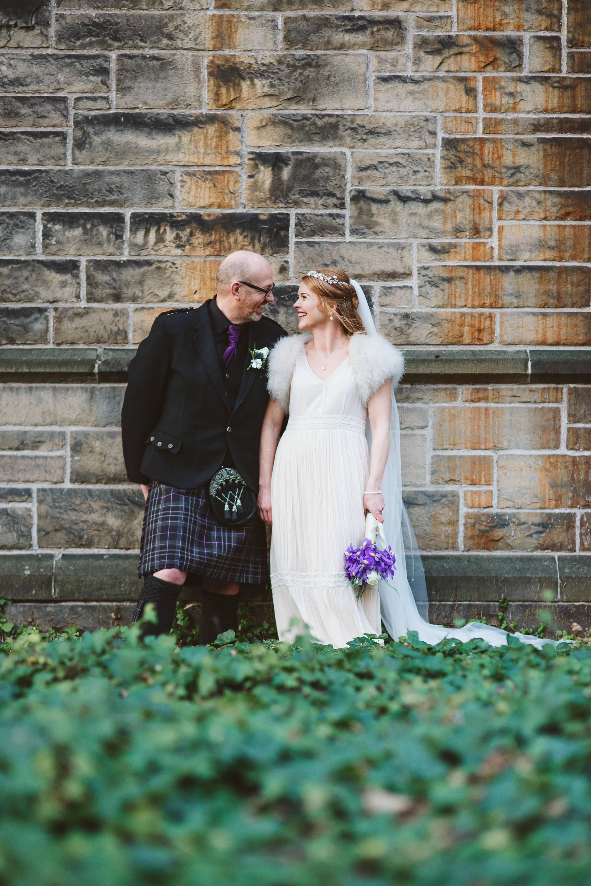 Wedding at mansfield traquair Edinburgh