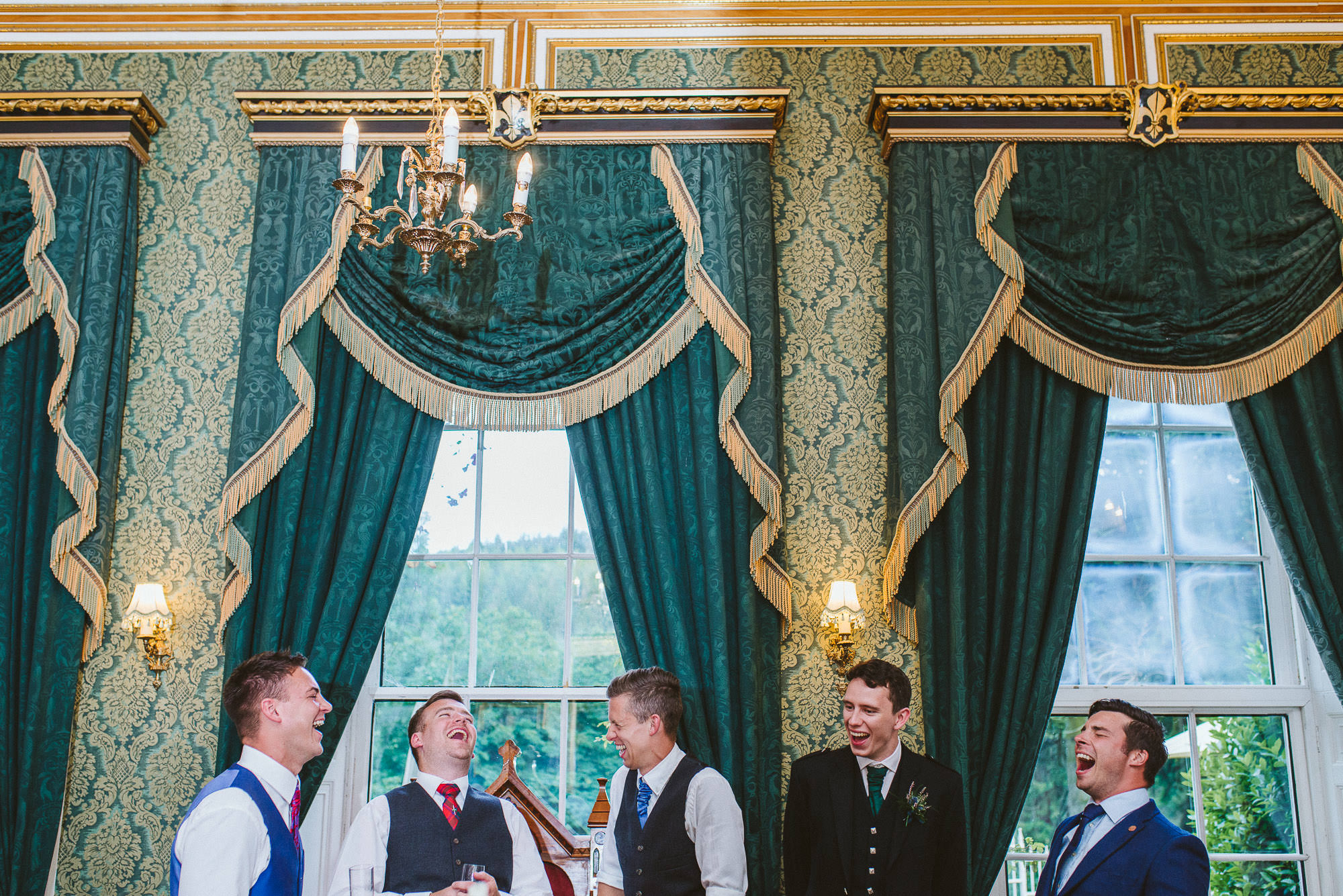 Wedding at Drumtochty Castle