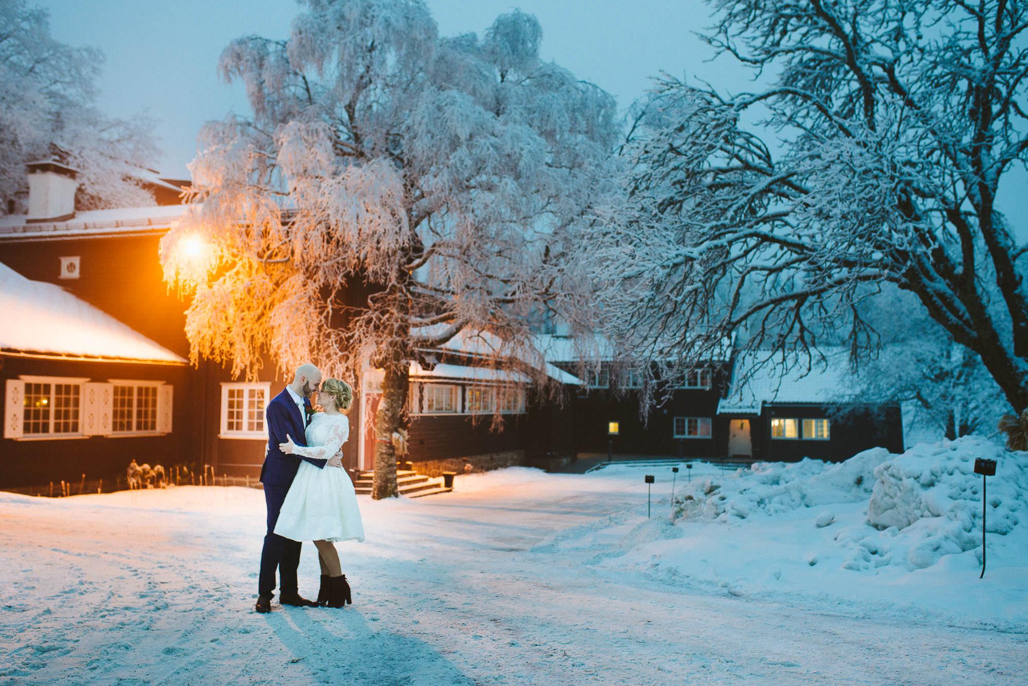 Wedding at Lysebu, Norway.