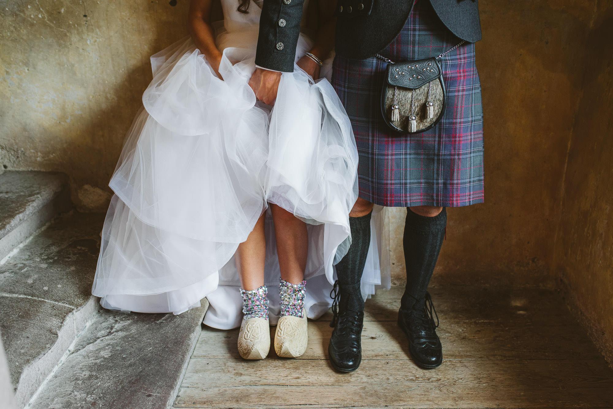 Neidpath Castle Wedding