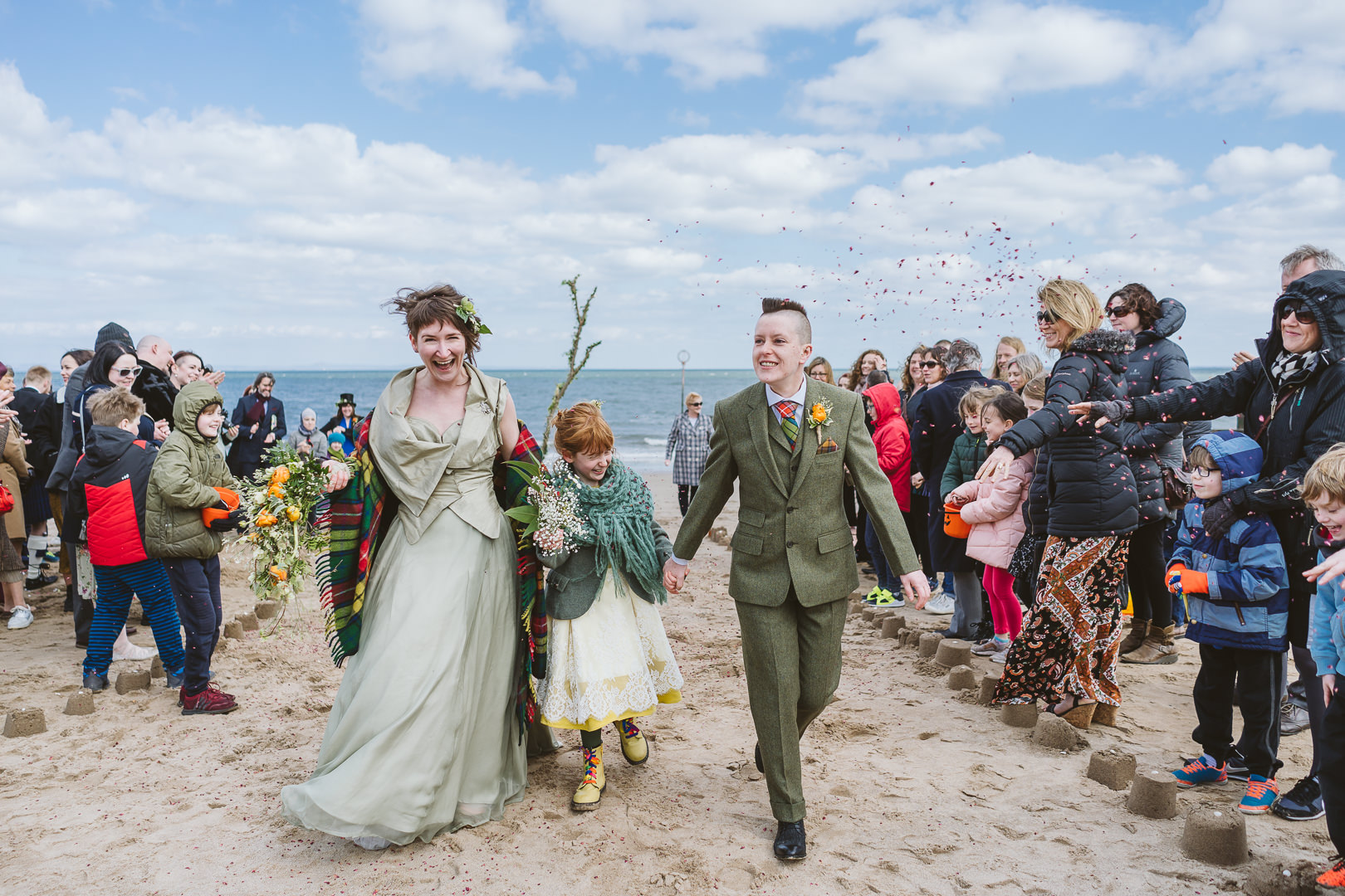 Portobello Beach Wedding - From my best wedding photos from 2019
