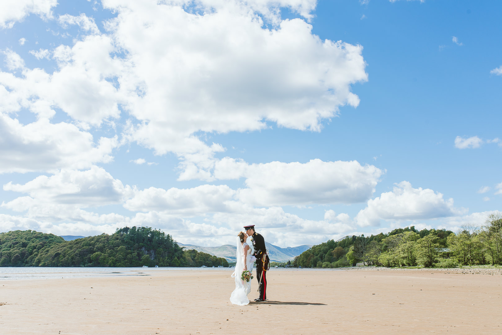 Loch Lomond Waterfront - From my best wedding photos from 2019