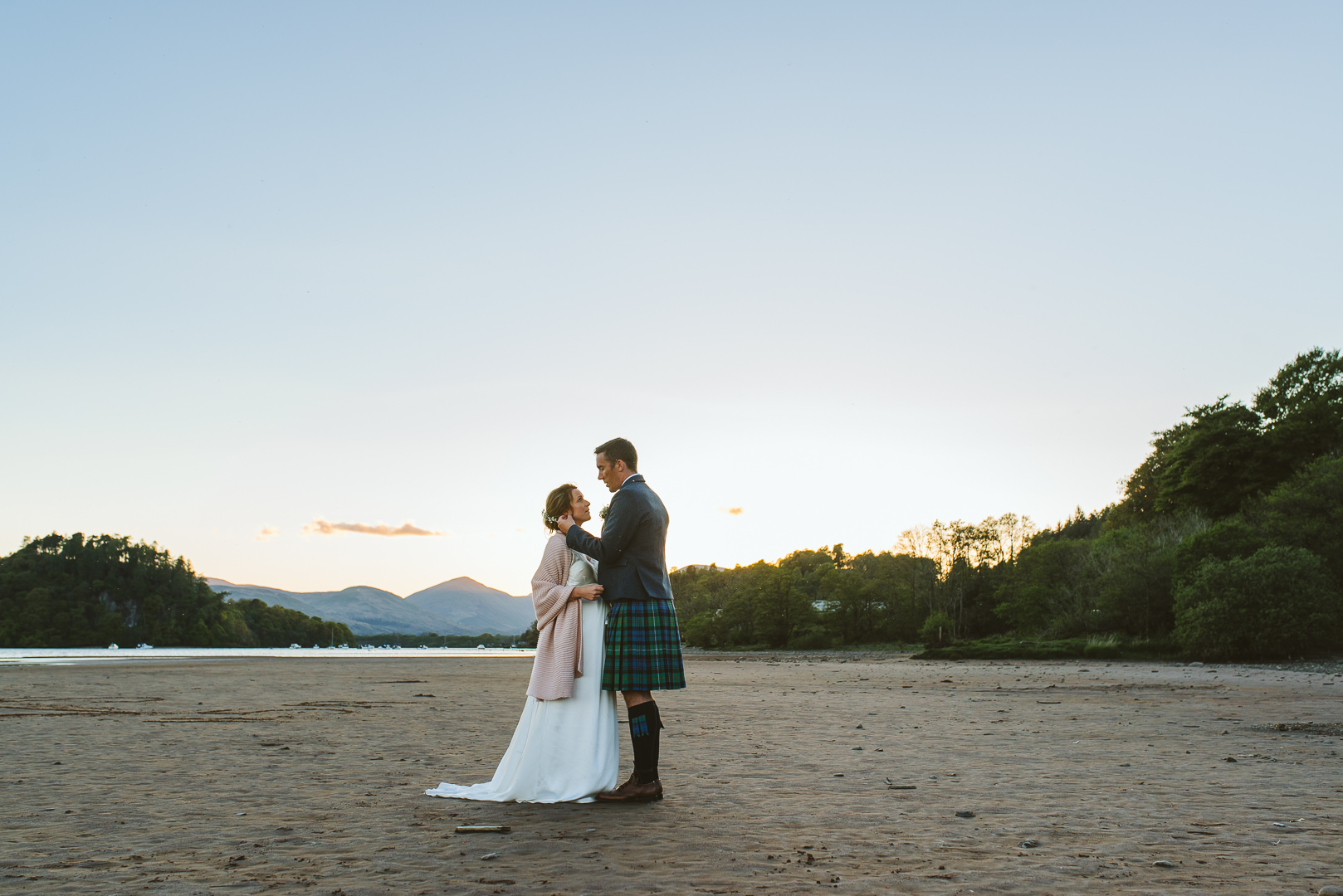 Loch Lomond Waterfront Wedding - From my best wedding photos from 2019