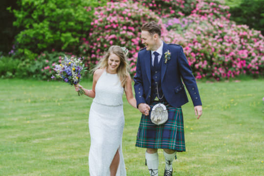 Springkell House Wedding - From my best wedding photos from 2019