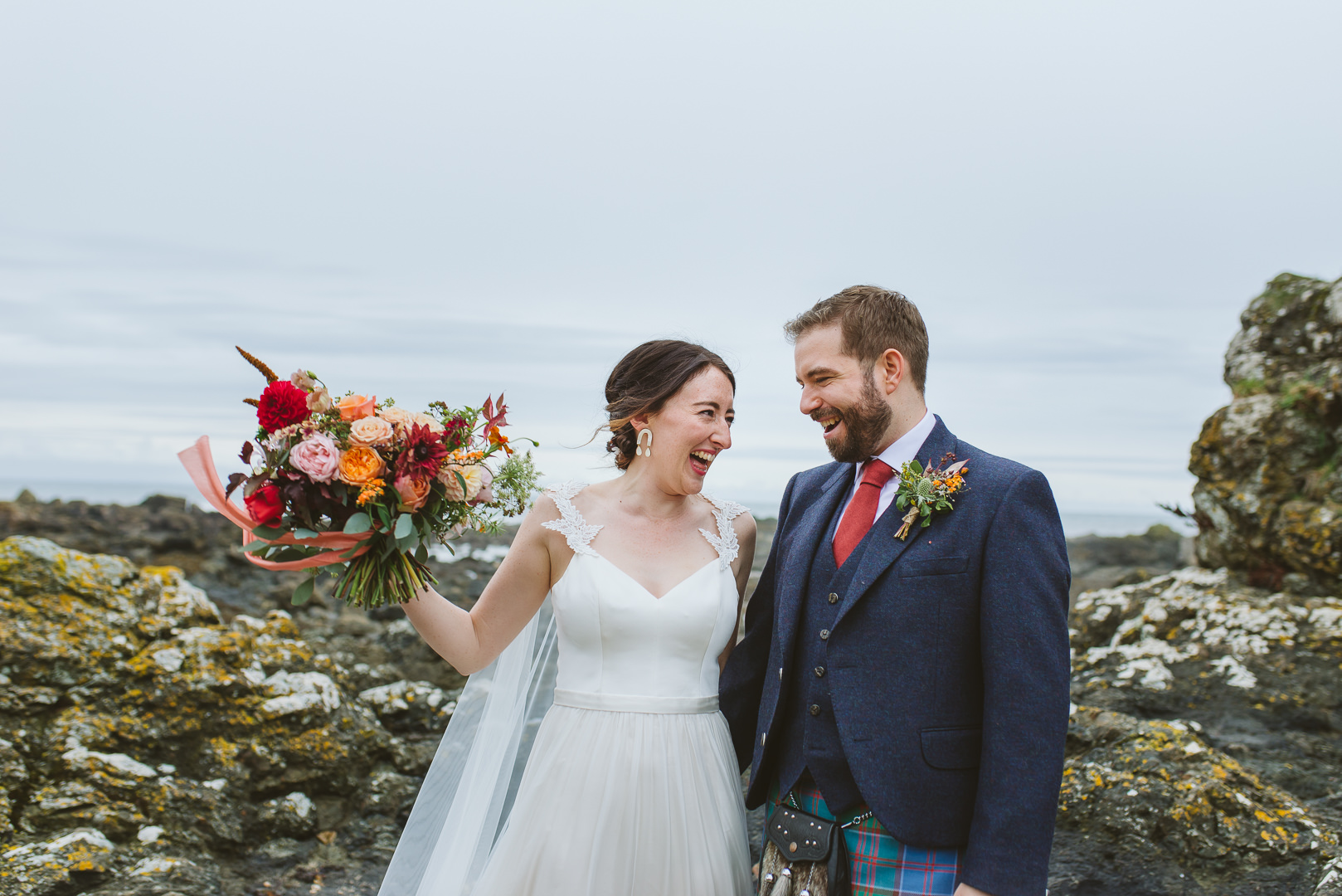 Kinkell Byre - From my best wedding photos from 2019