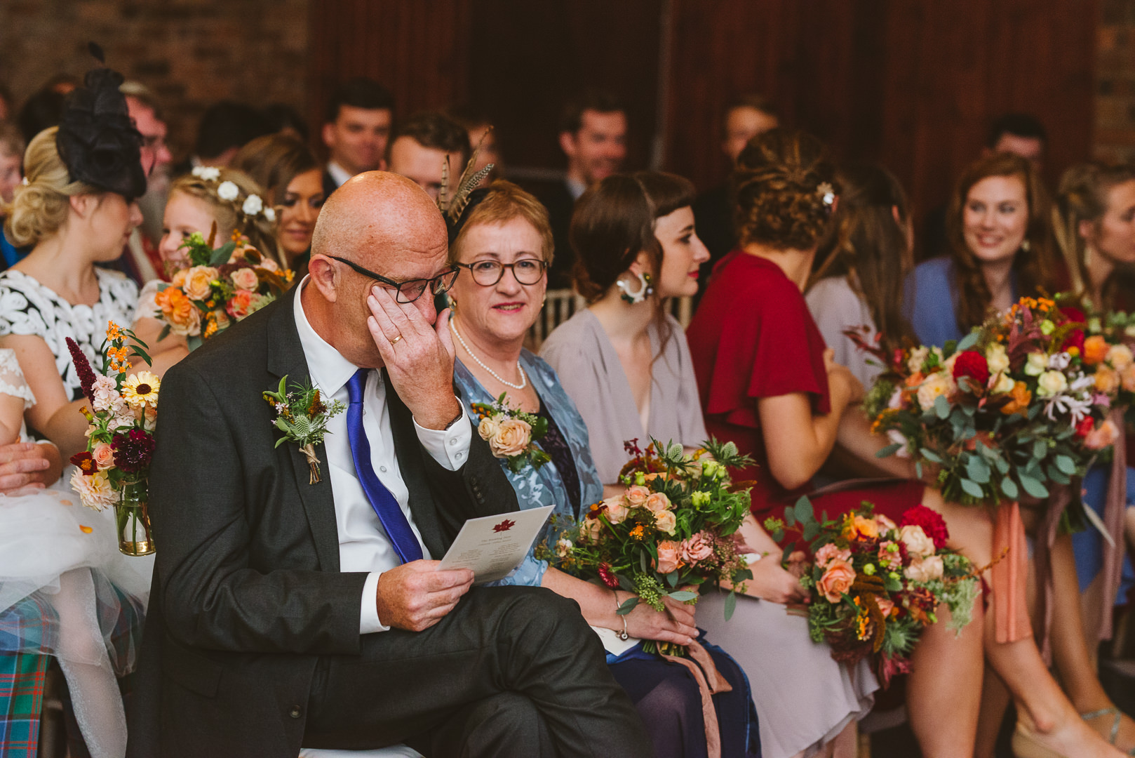 Why have a second shooter at a wedding? Capture different angles from the ceremony.