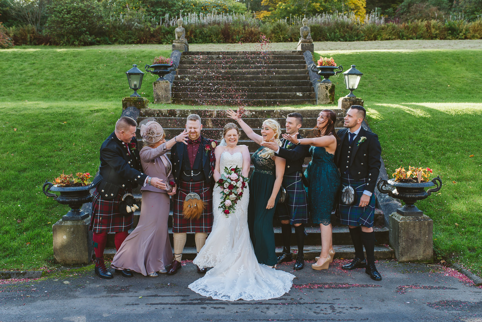 Why have a second shooter at a wedding? Help with group photos!
