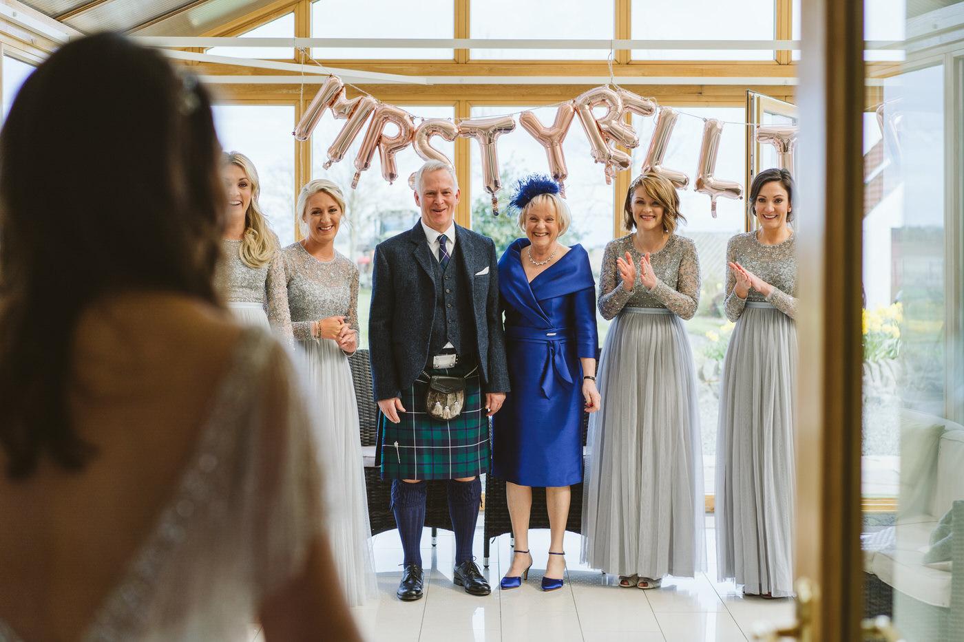 Gorgeous bridal prep photos